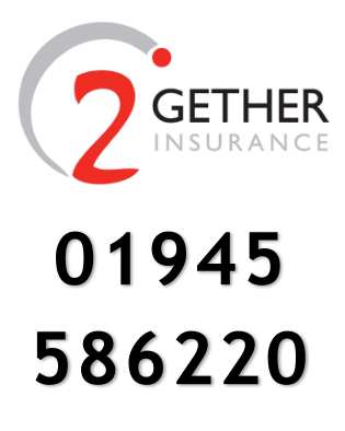 2gether insurance Tel: 01945 586220 up to 25% off for club members